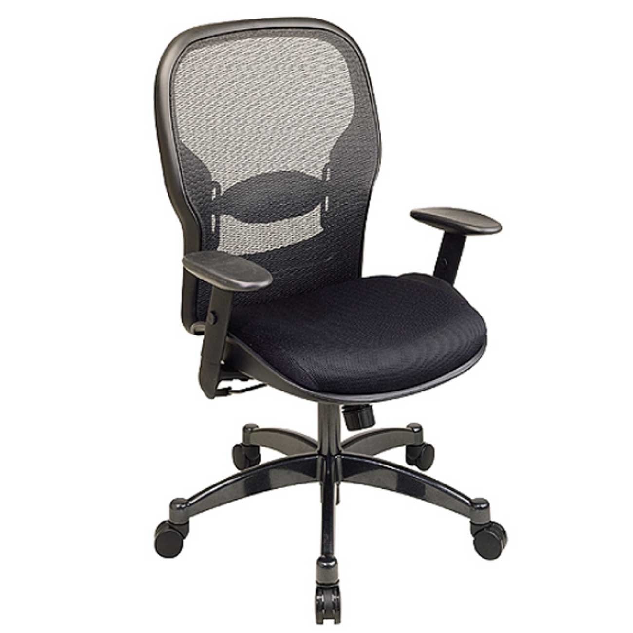 modern adjustable cheap desk chair in black