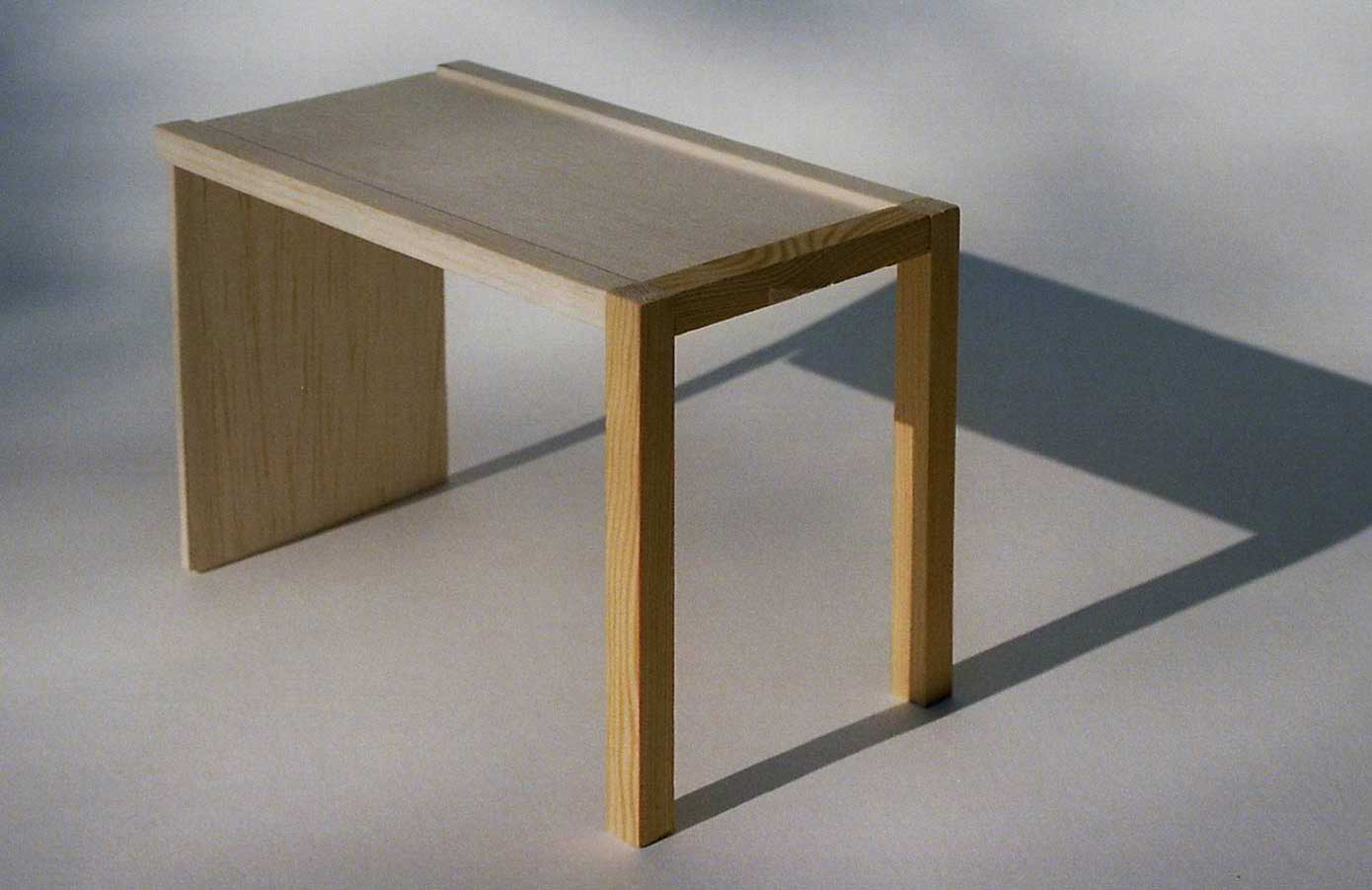natural finish plywood folding wood tables