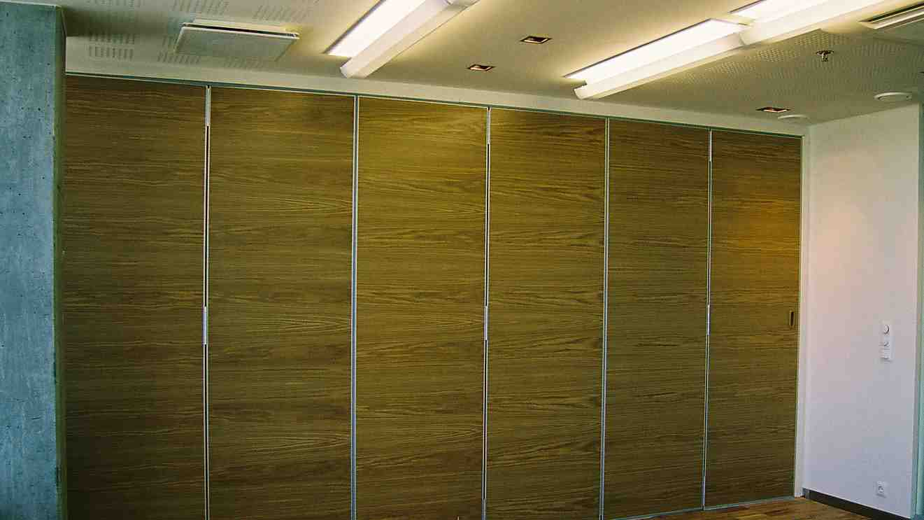 operable wooden movable office walls