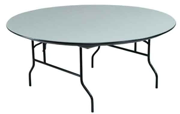 ABS Round Plastic Folding Table in 48-inch