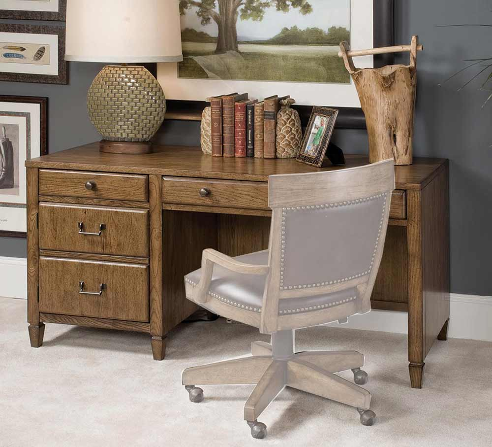 Americana Home Office Desk with Storage Drawer