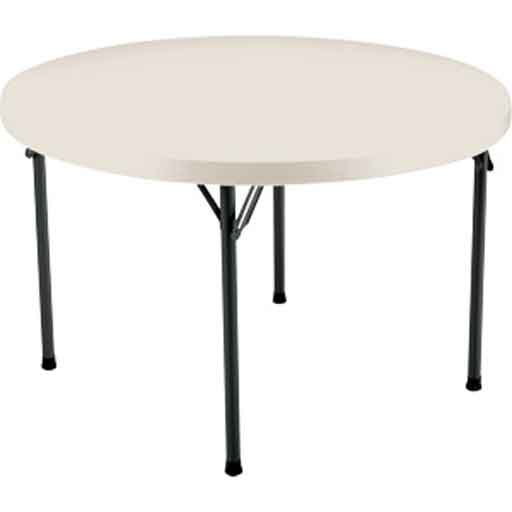 Costco 48 Round Folding Table in White