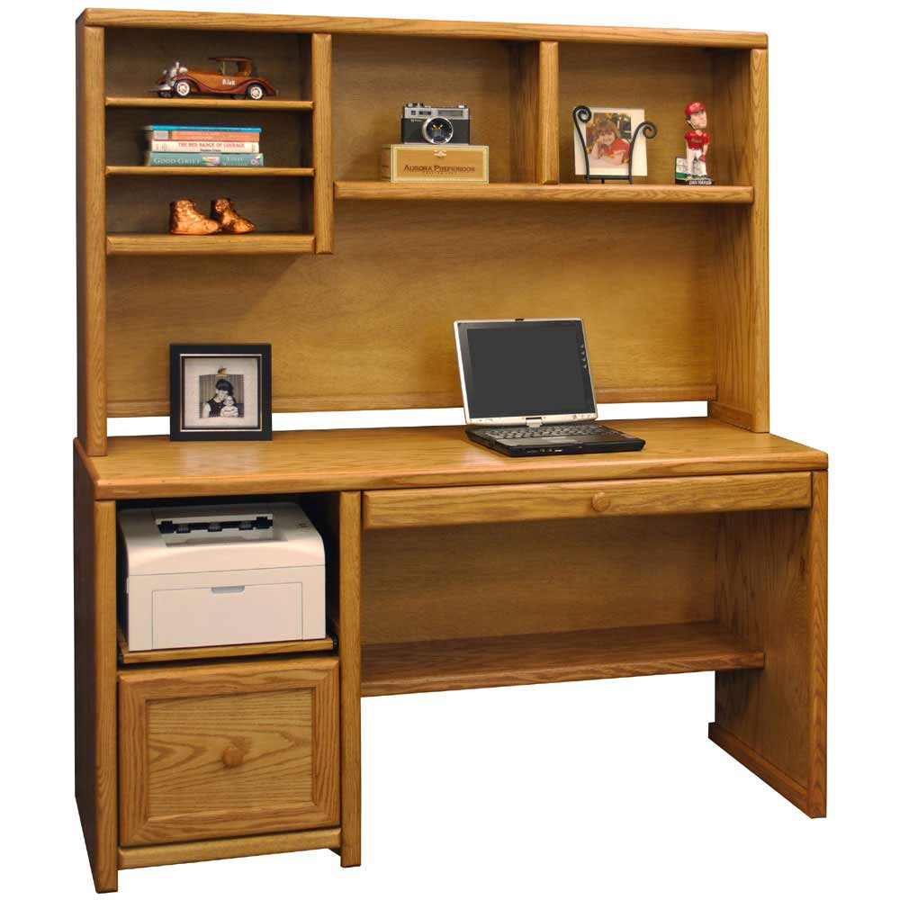 Devon 56-inch Wooden Computer Furniture Direct