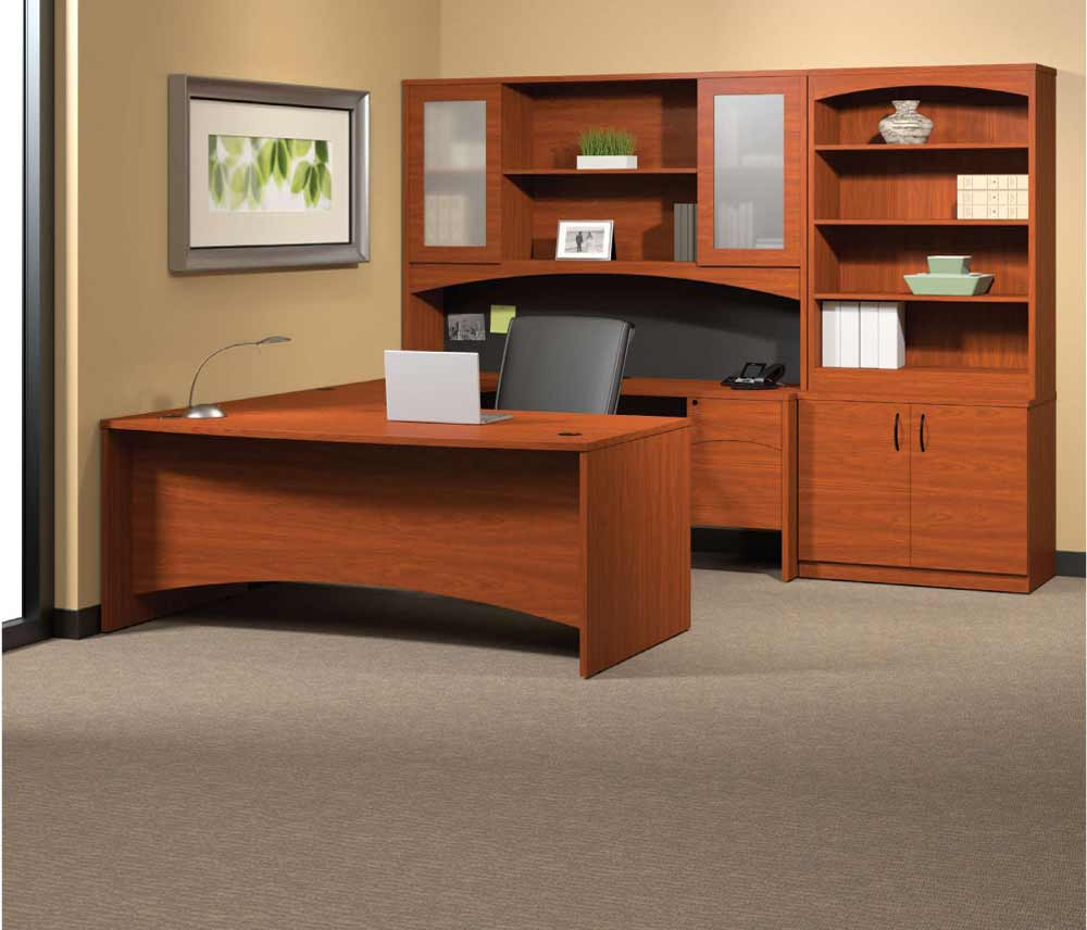 Executive Wooden Office Furniture Connection Design