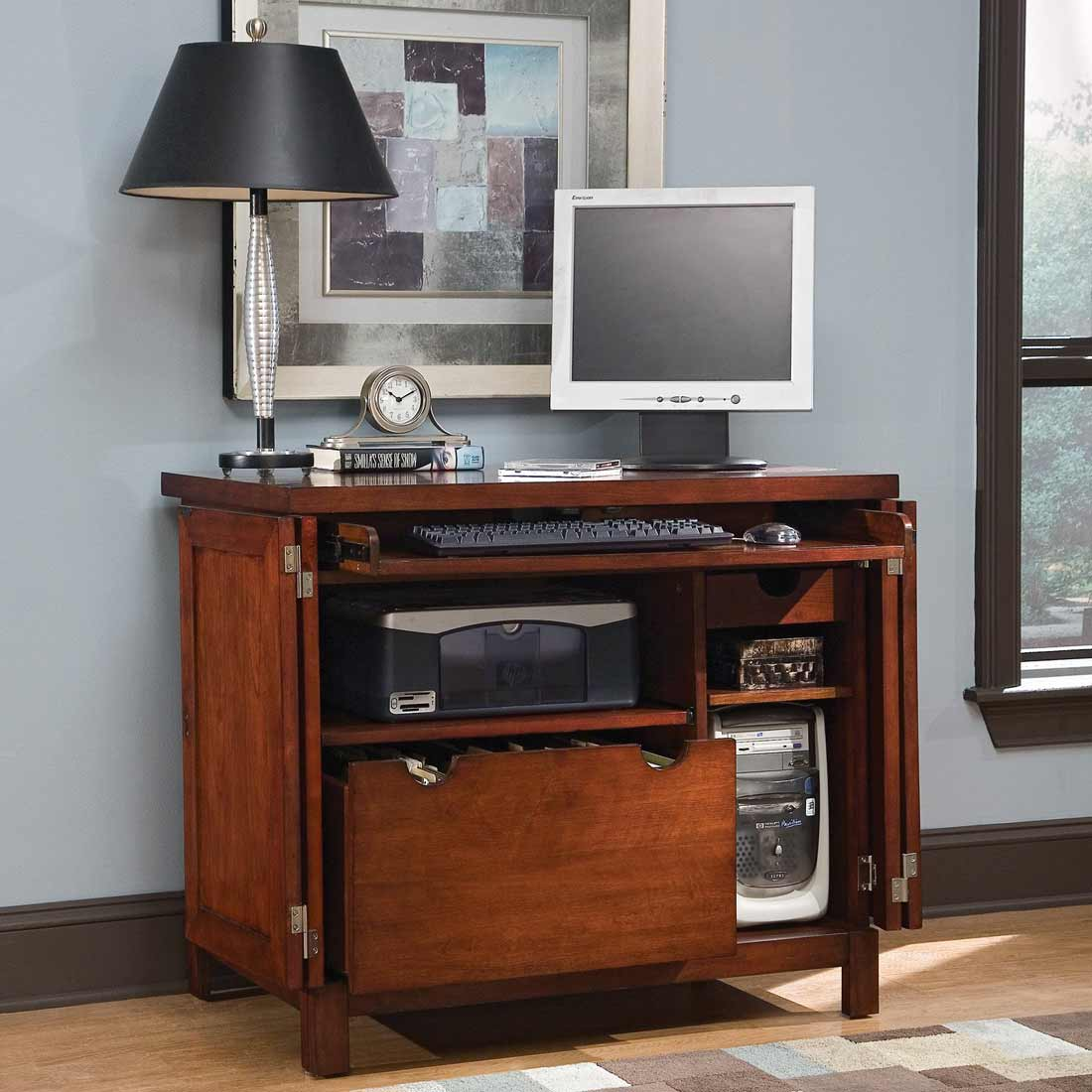 Hanover cheap computer armoire for home office