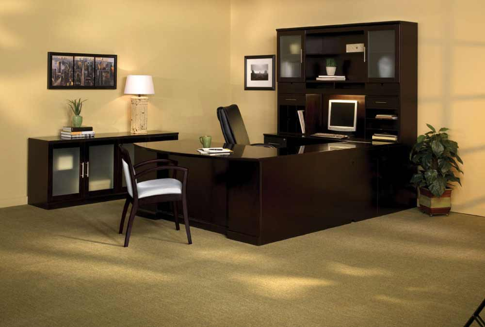 Office Furniture Connection Desk with Hutch Collection