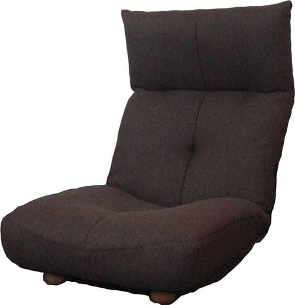 Relaxing Brown Folding Floor Chair