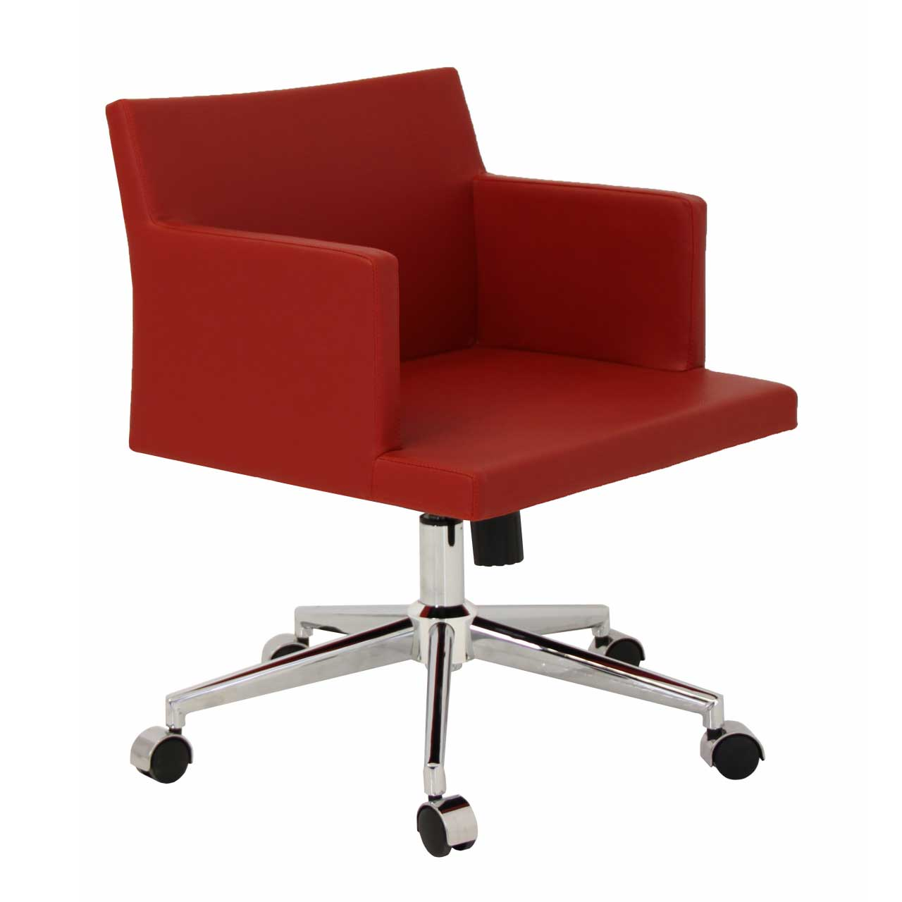 Soho stylish red wide office guest chair