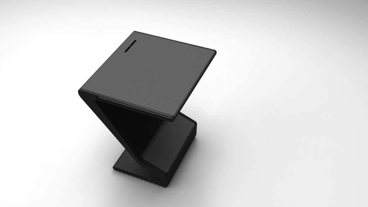 Stylish Black Office Furniture Desk Accessories
