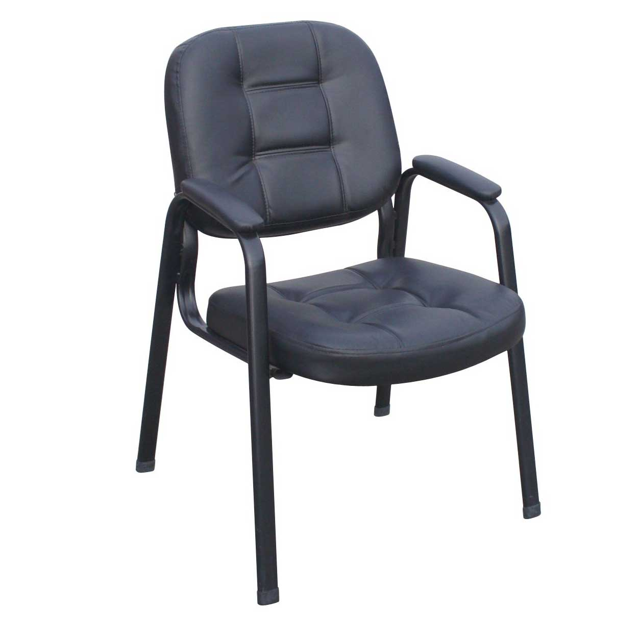 black conference office visitor chairs