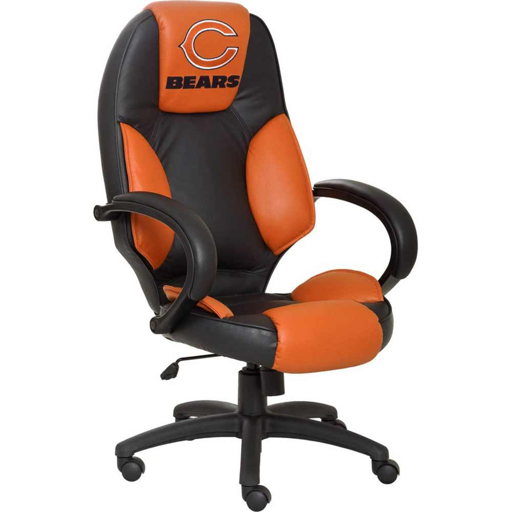 ergonomic chicago office chairs in bear leather
