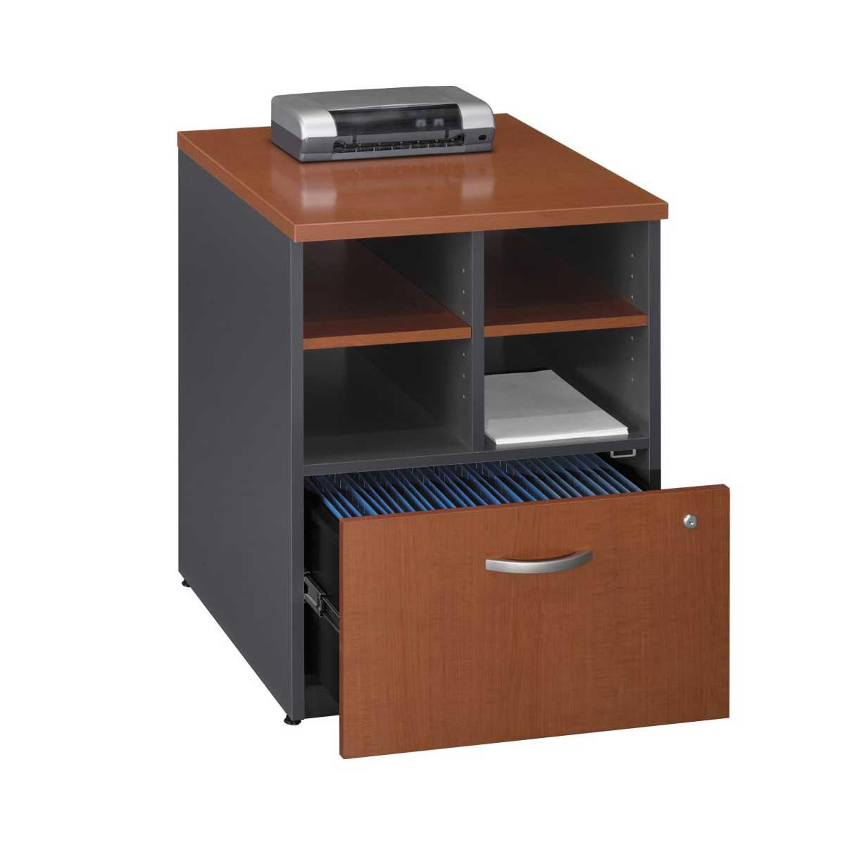 single drawer best file cabinets in wood