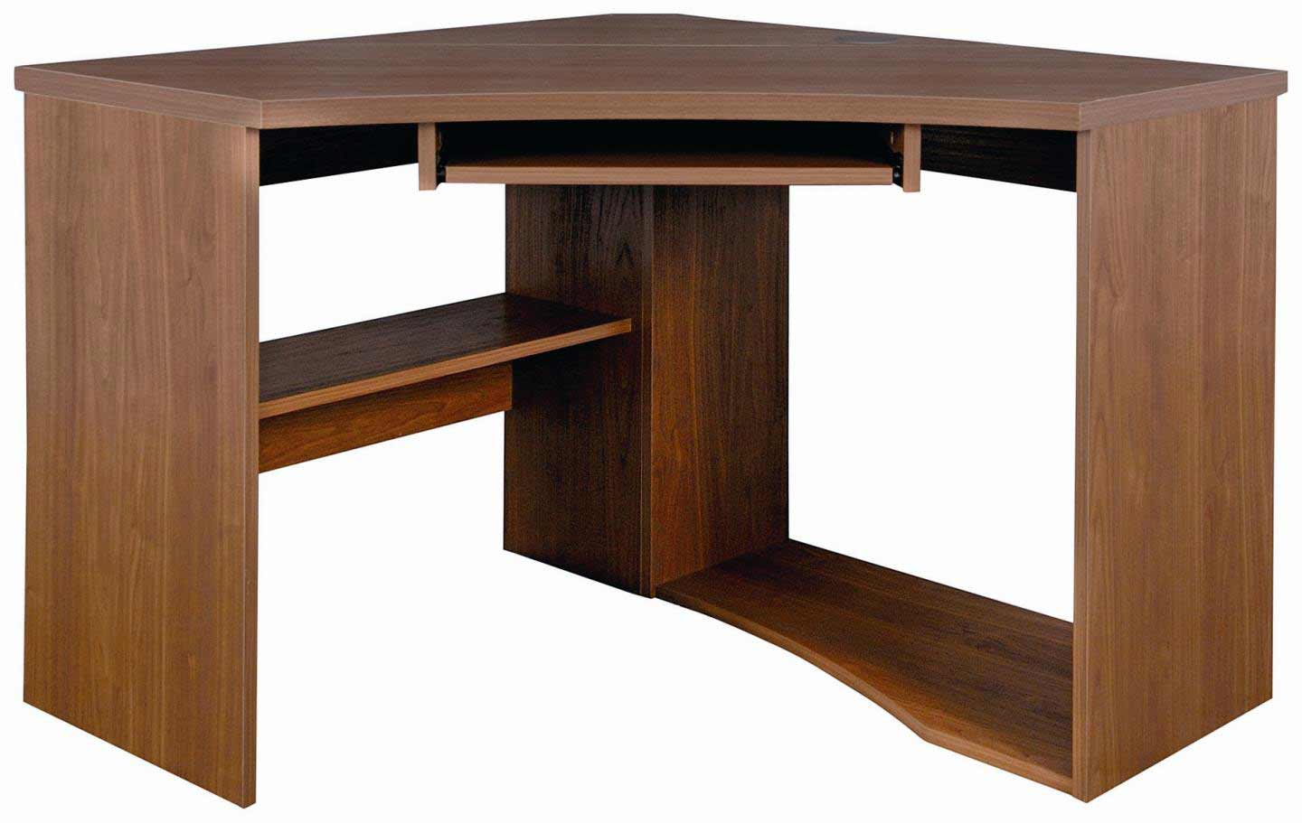 stylish corner computer desk table