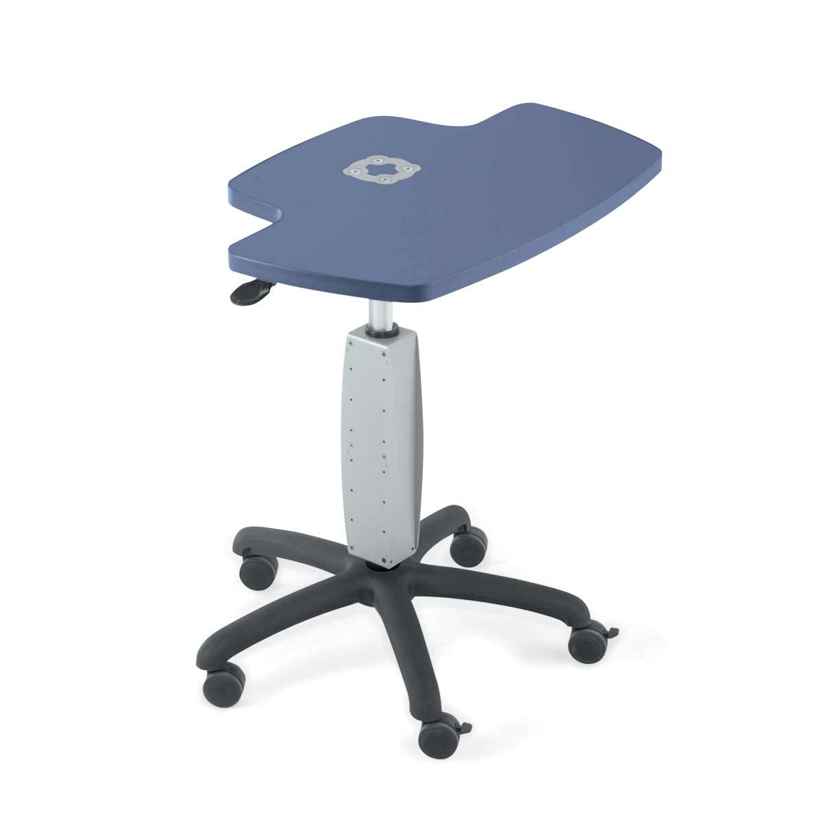 Anthro Height Adjustable Mobile Laptop Cart