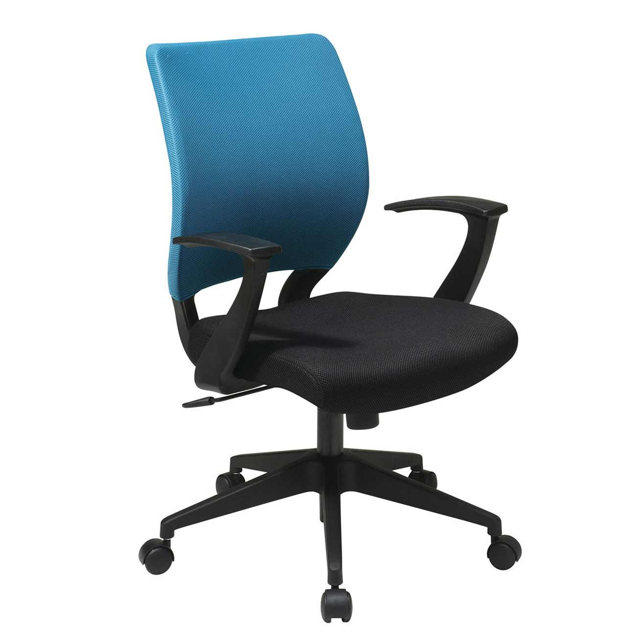 Bonanza Blue Sleeve Cover Executive Office Chair