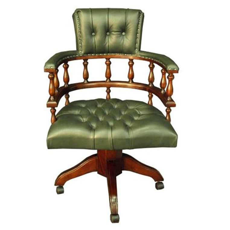 Captain Office Chair in Green