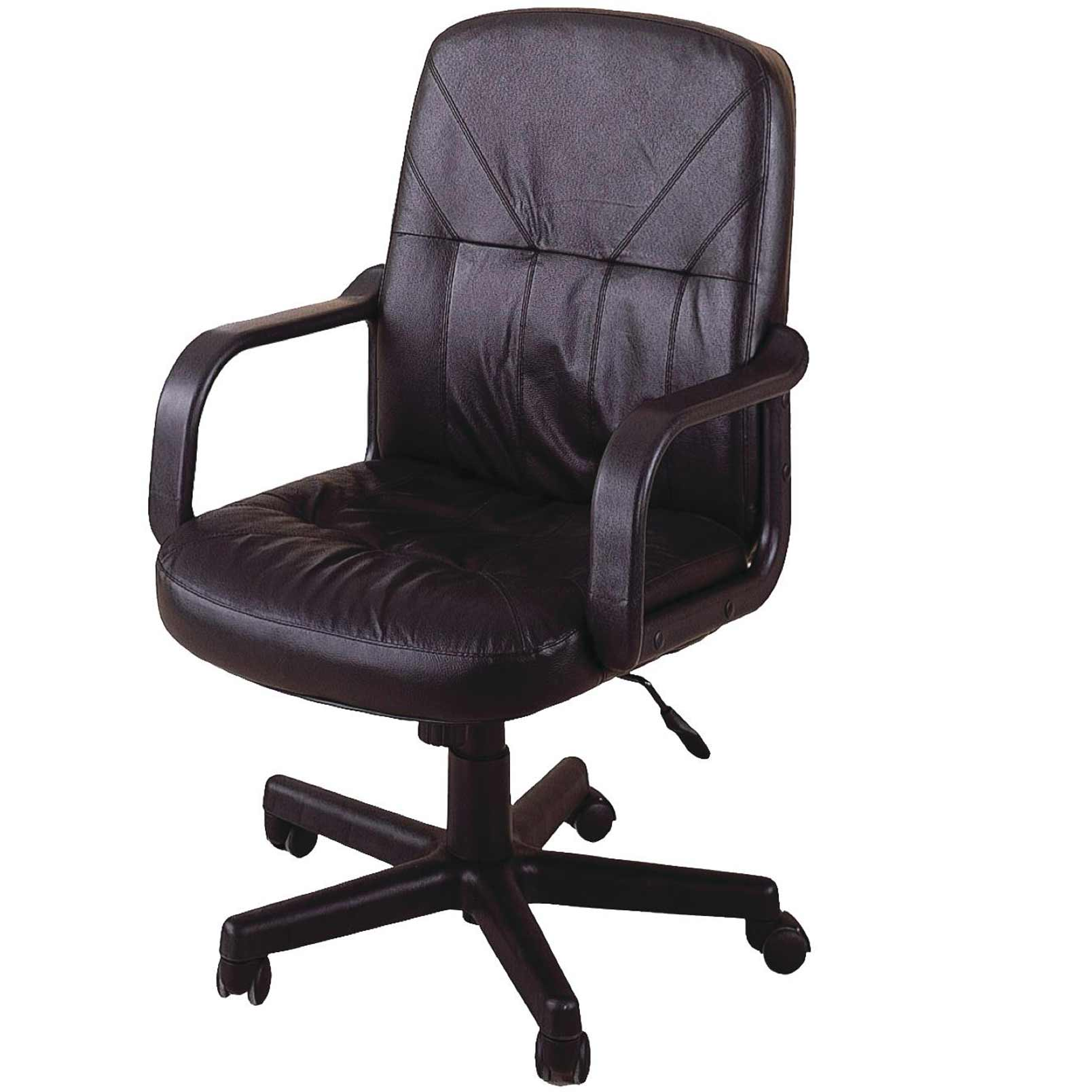 Coaster Home Office Brown Leather Chairs