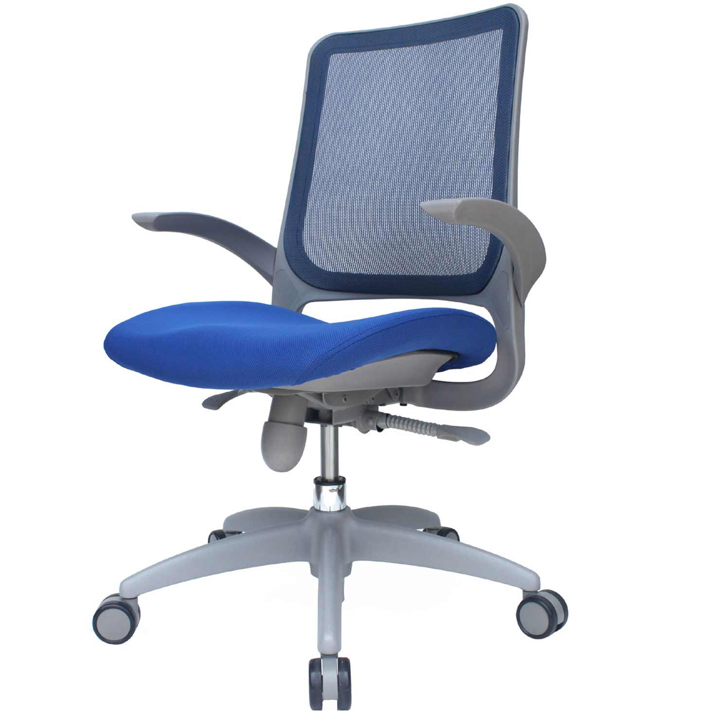 Dehao Furniture Ergonomic Blue Office Mesh Chair