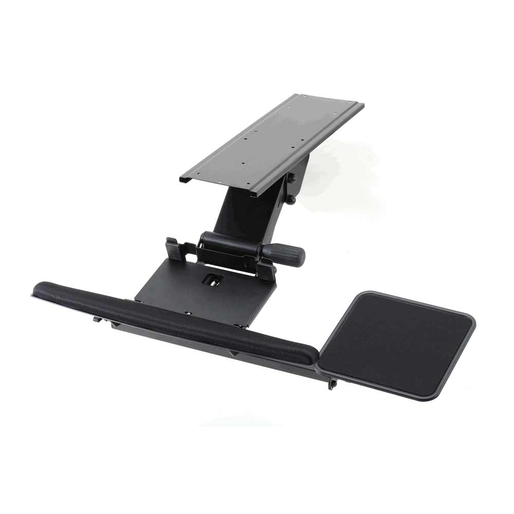 Ergonomic Deluxe Keyboard Tray and Mouse