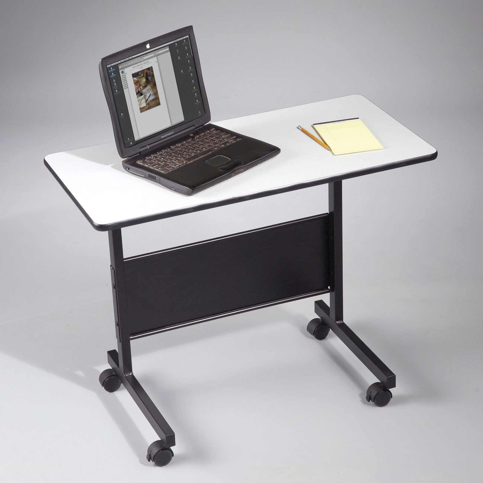 LT Mobile Laptop Table with Wheels