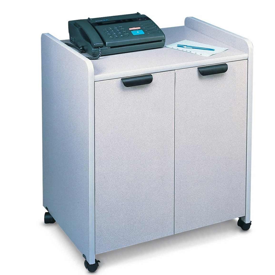 Mayline used mobile office furniture utility cabinet