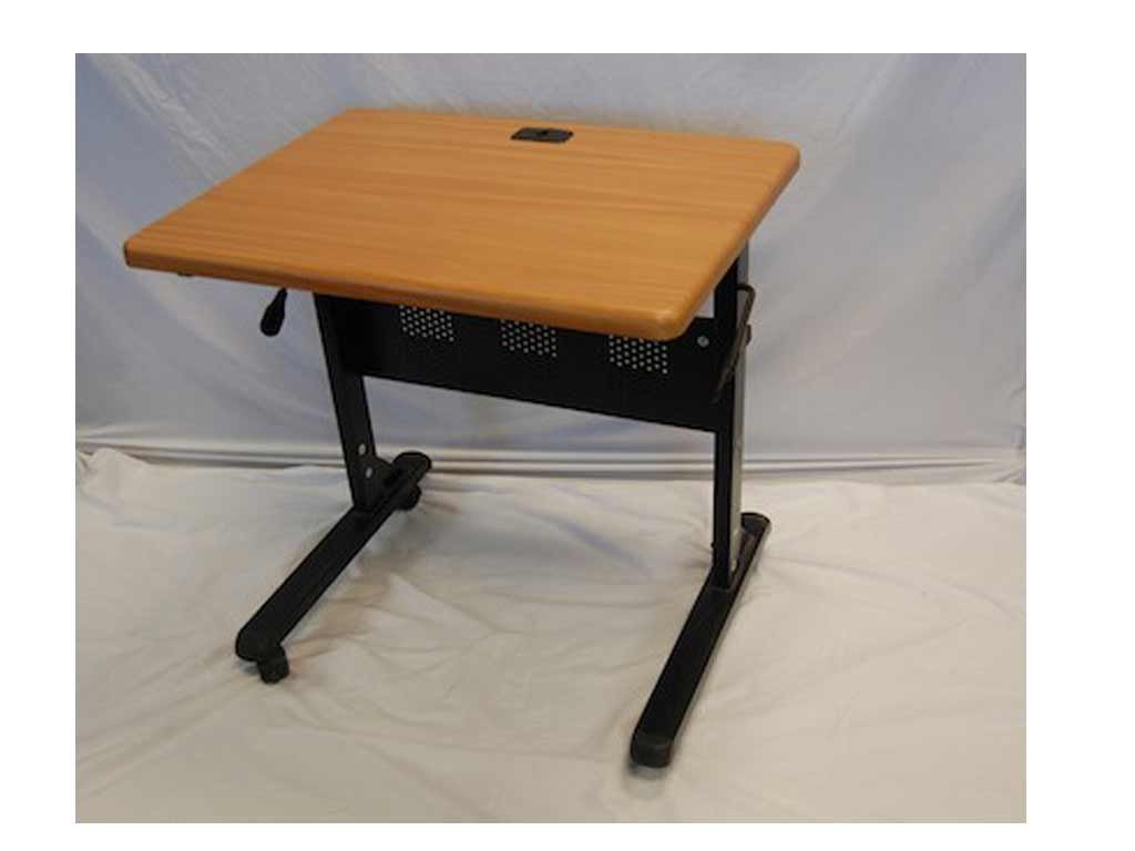 Portable Flip-Top Computer Table