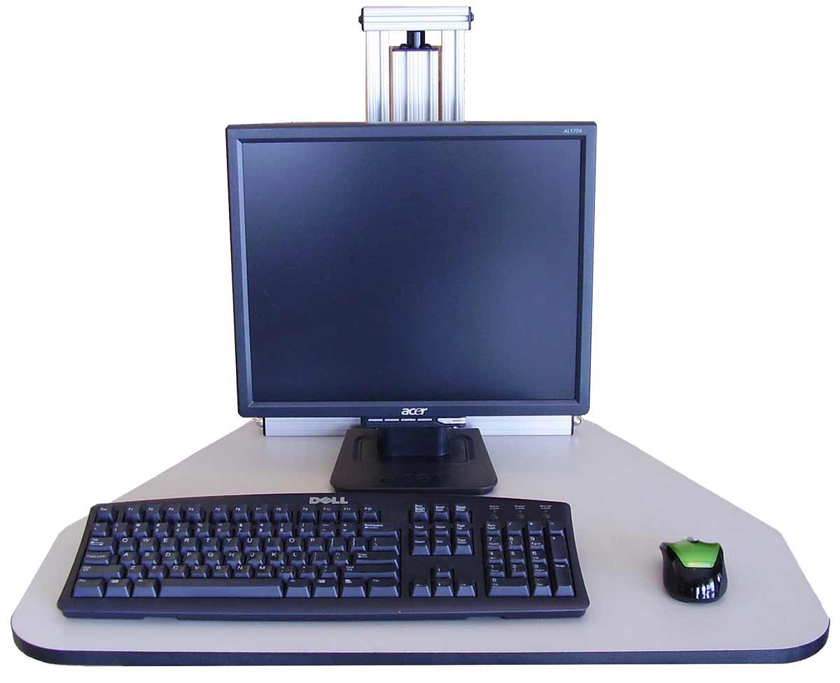Wallaby free standing desk with adjustable height