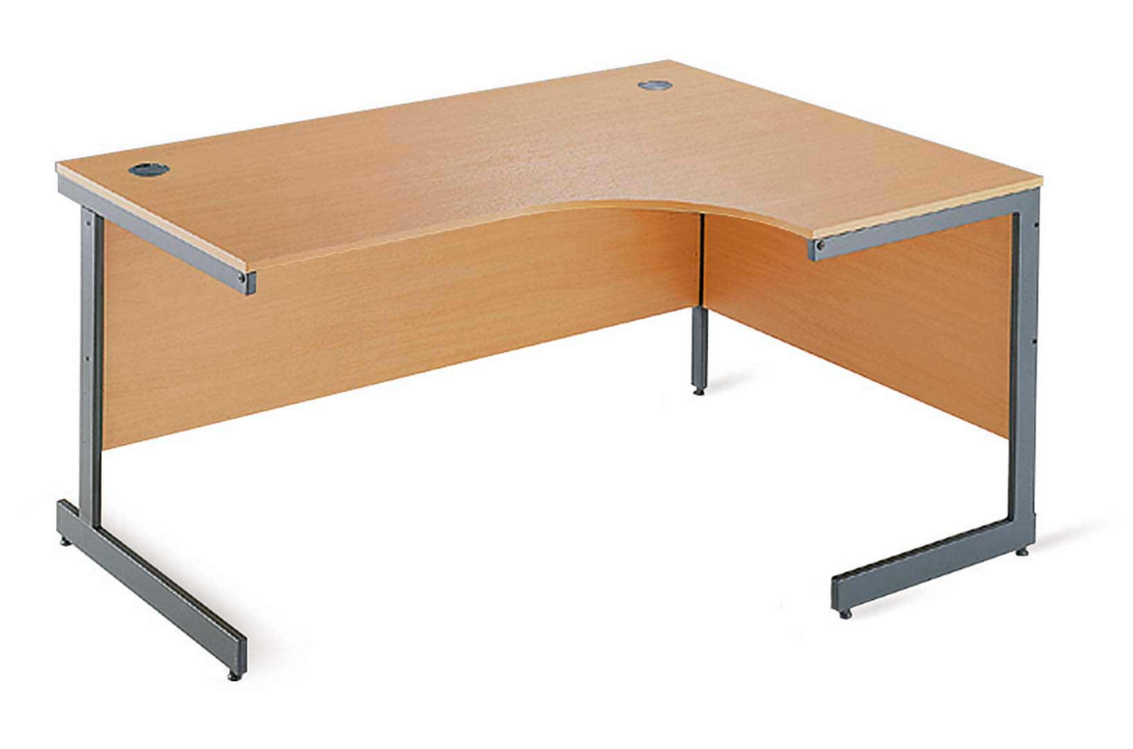 Wooden Top Corner Desk for Computer