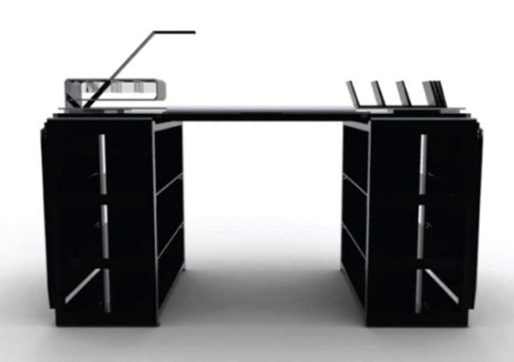 contemporary office desks in unique design