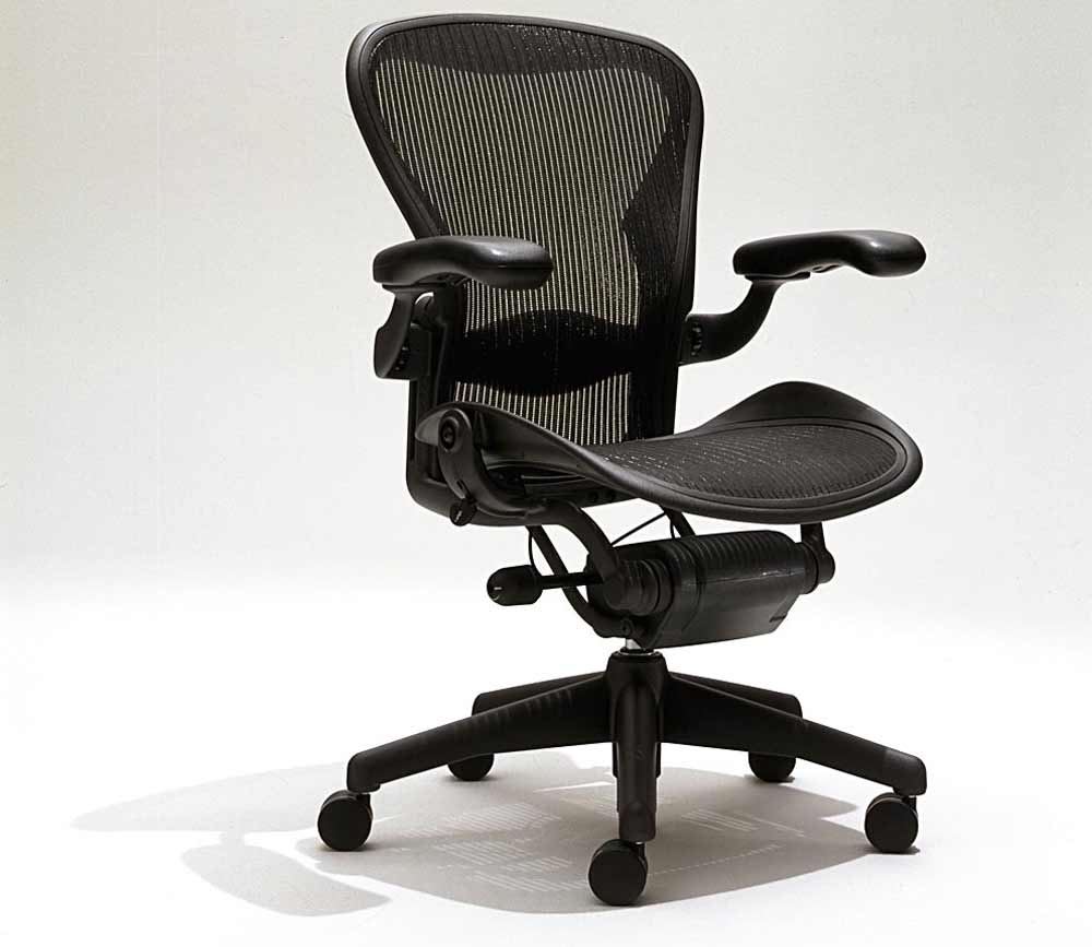used eco friendly aeron home office chair
