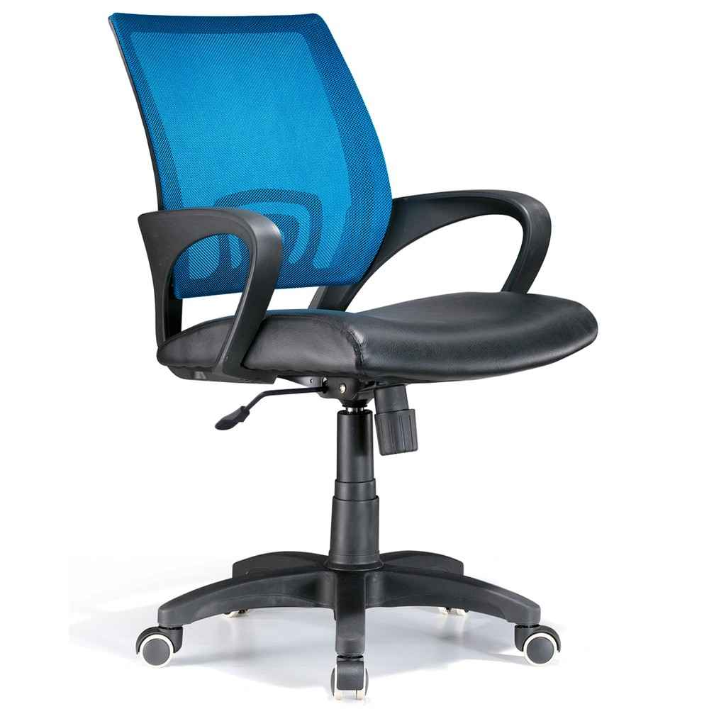Back Mesh Blue Officer Office Chairs