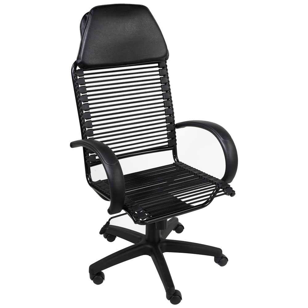 Big and Tall Black Office Desk Chair from OFM