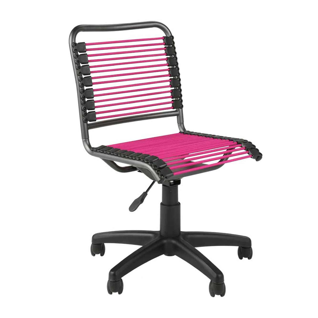 Bungee Mesh Armless Office Task Chair