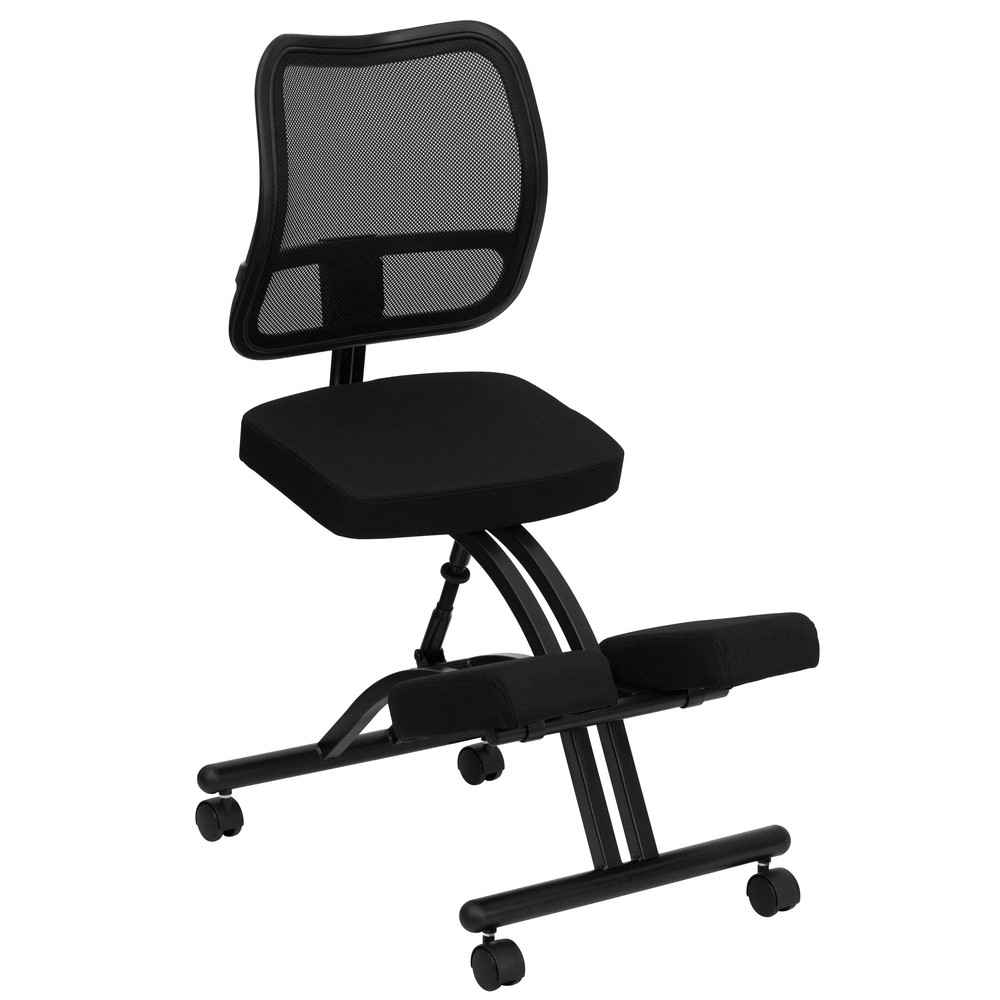 Mesh Black Kneeling Office Chairs