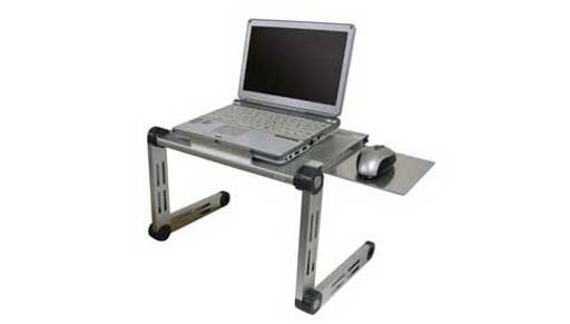 Thanko portable laptop computer desk