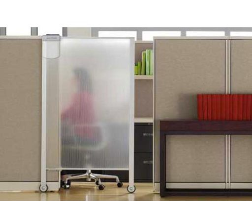 Transparent Sliding Cubicle Glass Door