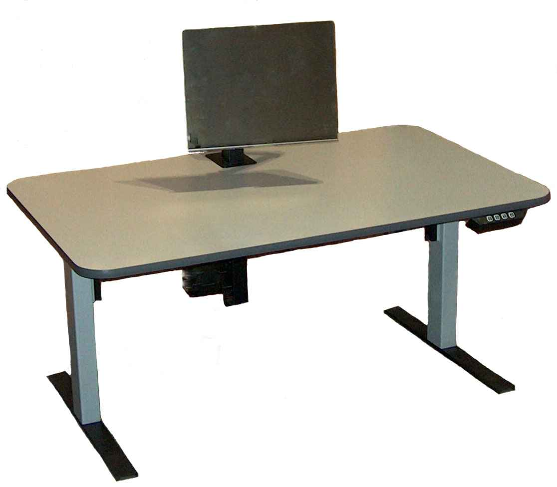 cheap adjustable ergonomics computer desk