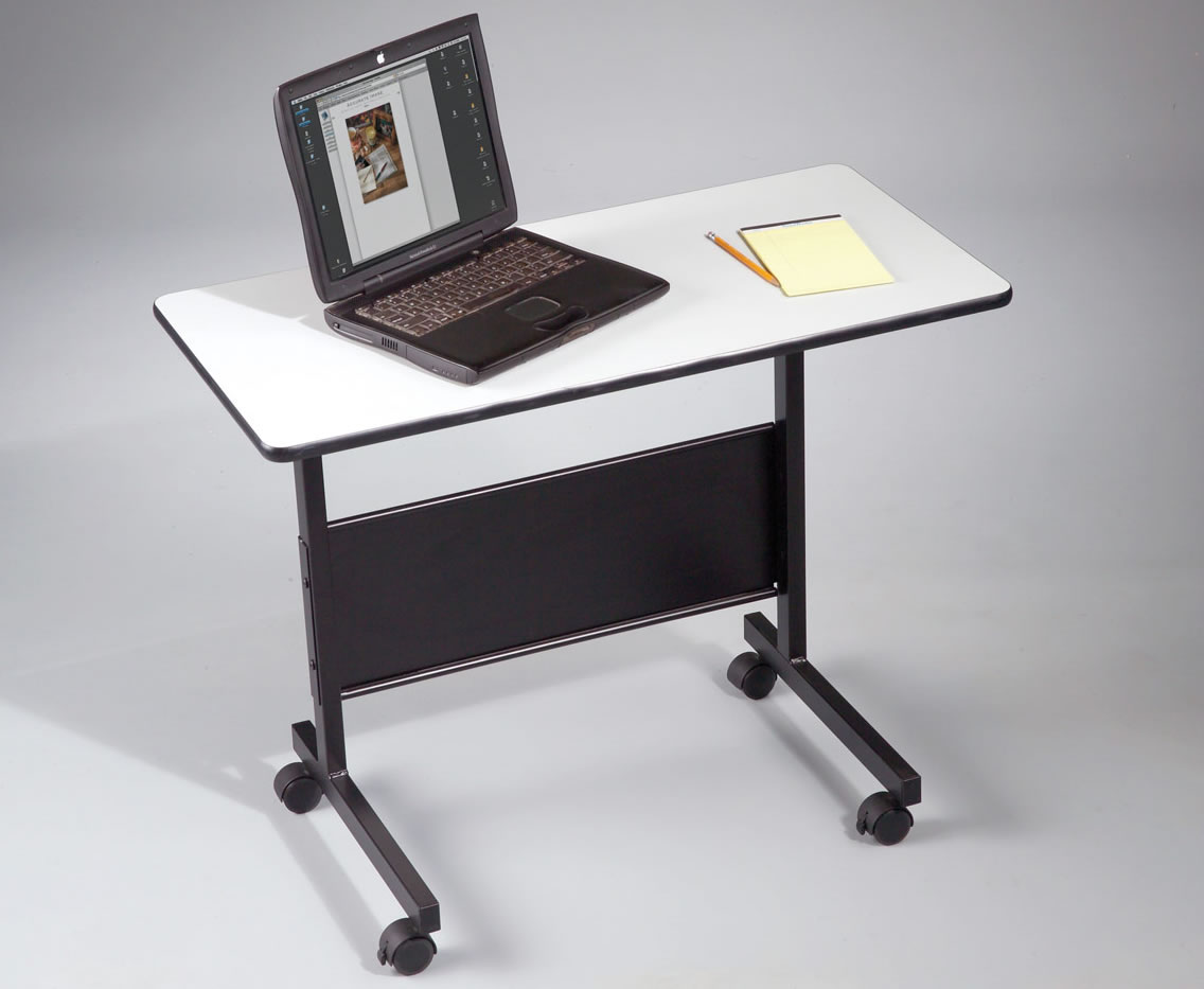 Adjustable and Mobile Notebook Computer Drafting Table