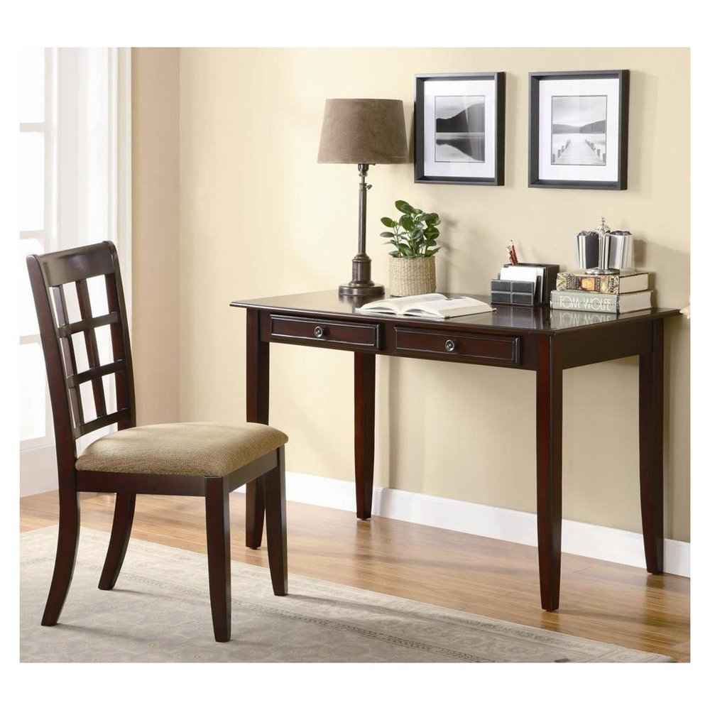 Antique Office Desk and Chair in Vintage Style