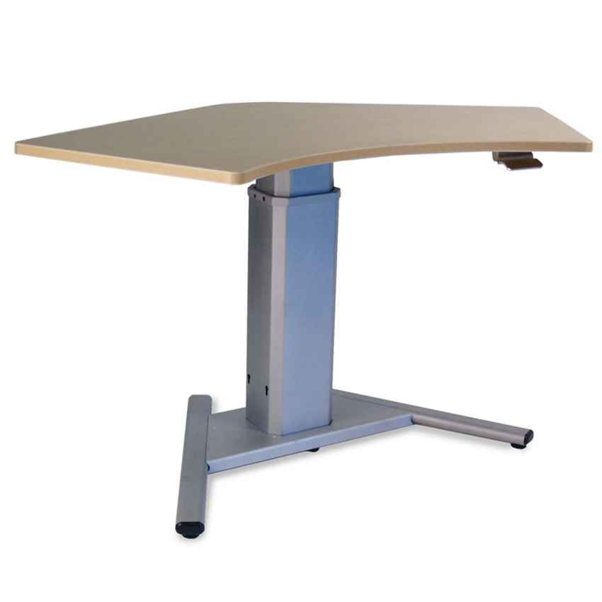 Compact industrial computer desk stand
