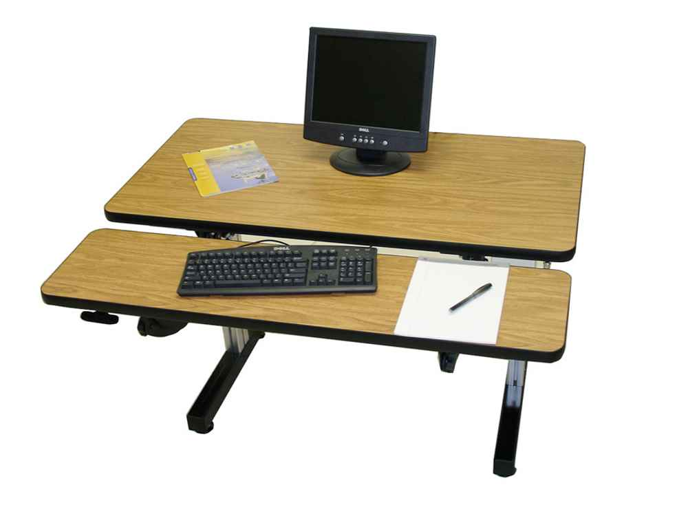 Custom industrial laptop workstation