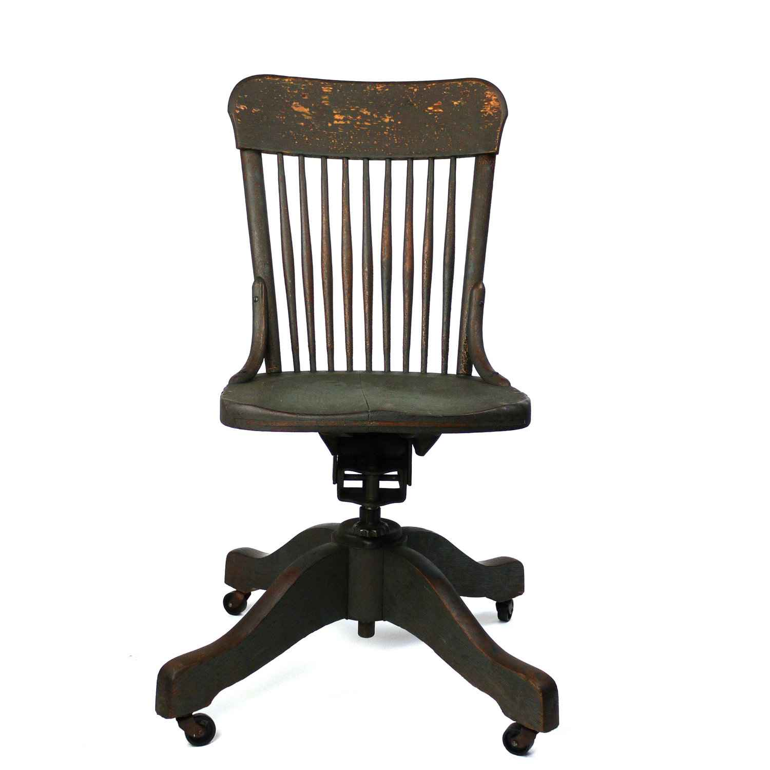 Daily memorandum wood antique office chair
