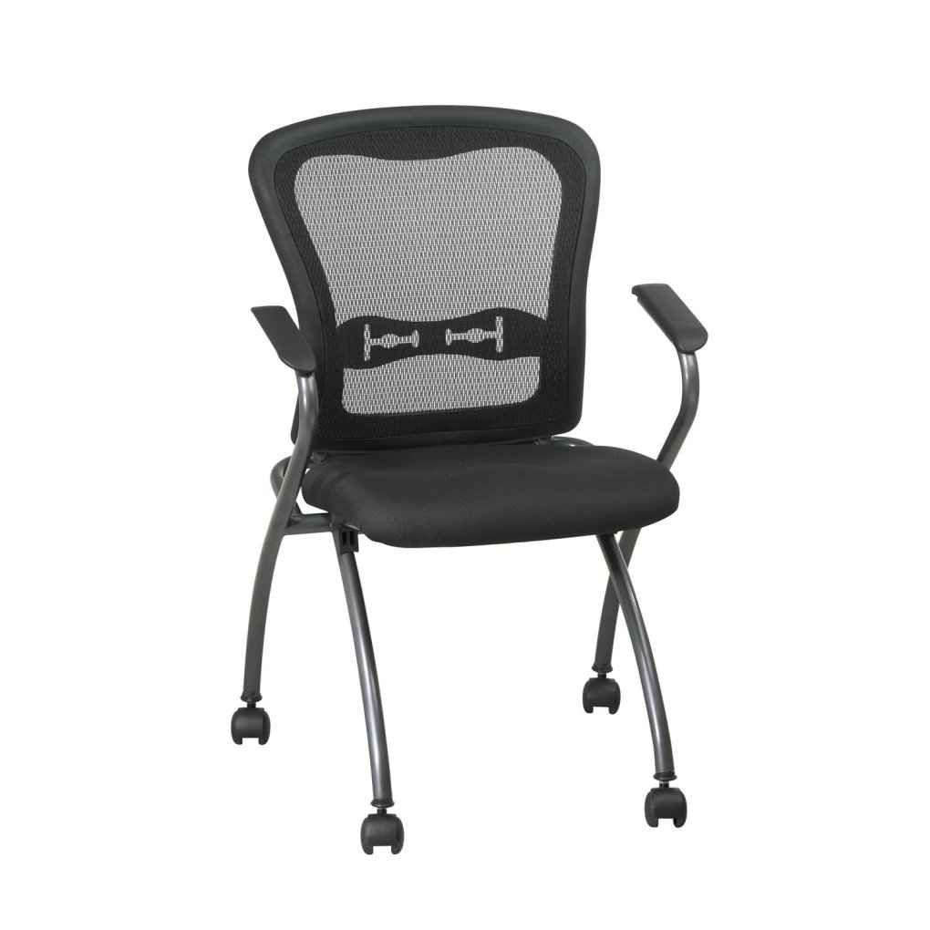 Deluxe Commercial Titanium Folding Office Chair