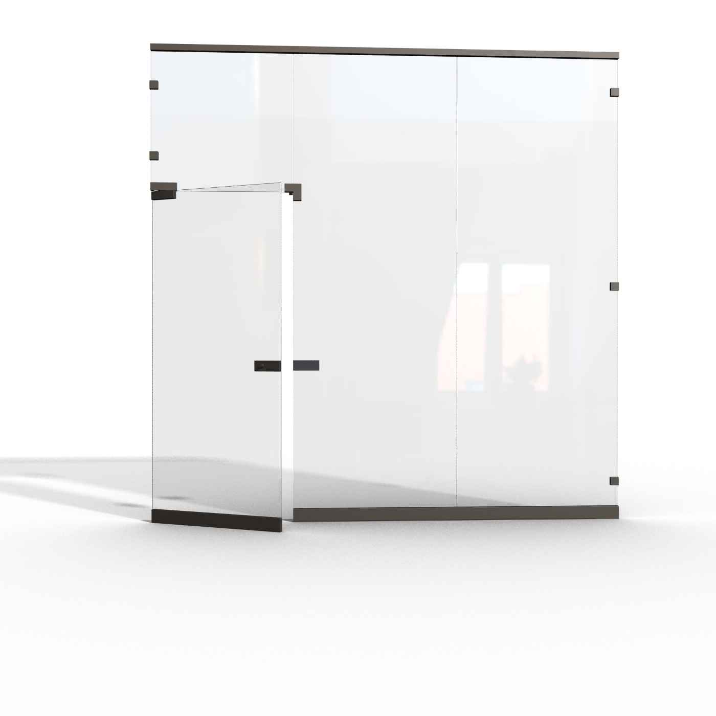 Glass Office Cubicle Wall Partitions