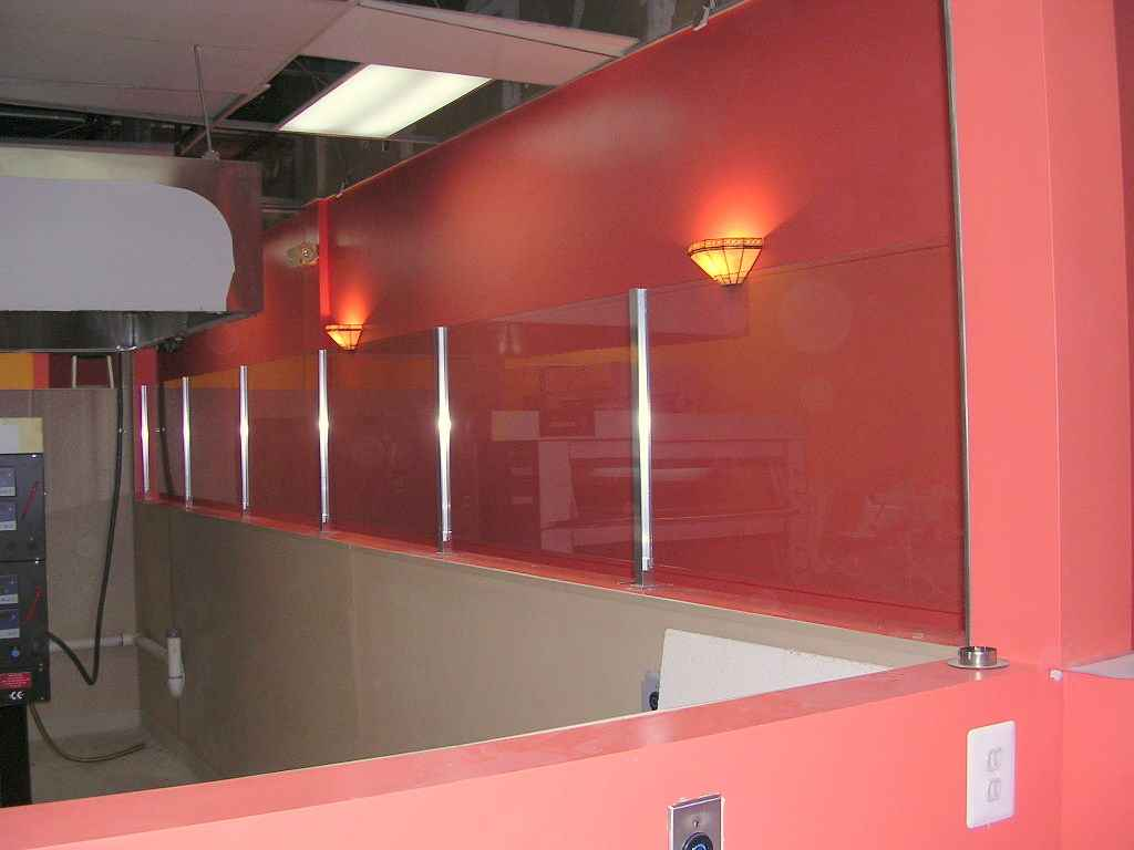 Glass Walls Partitions for Gallery