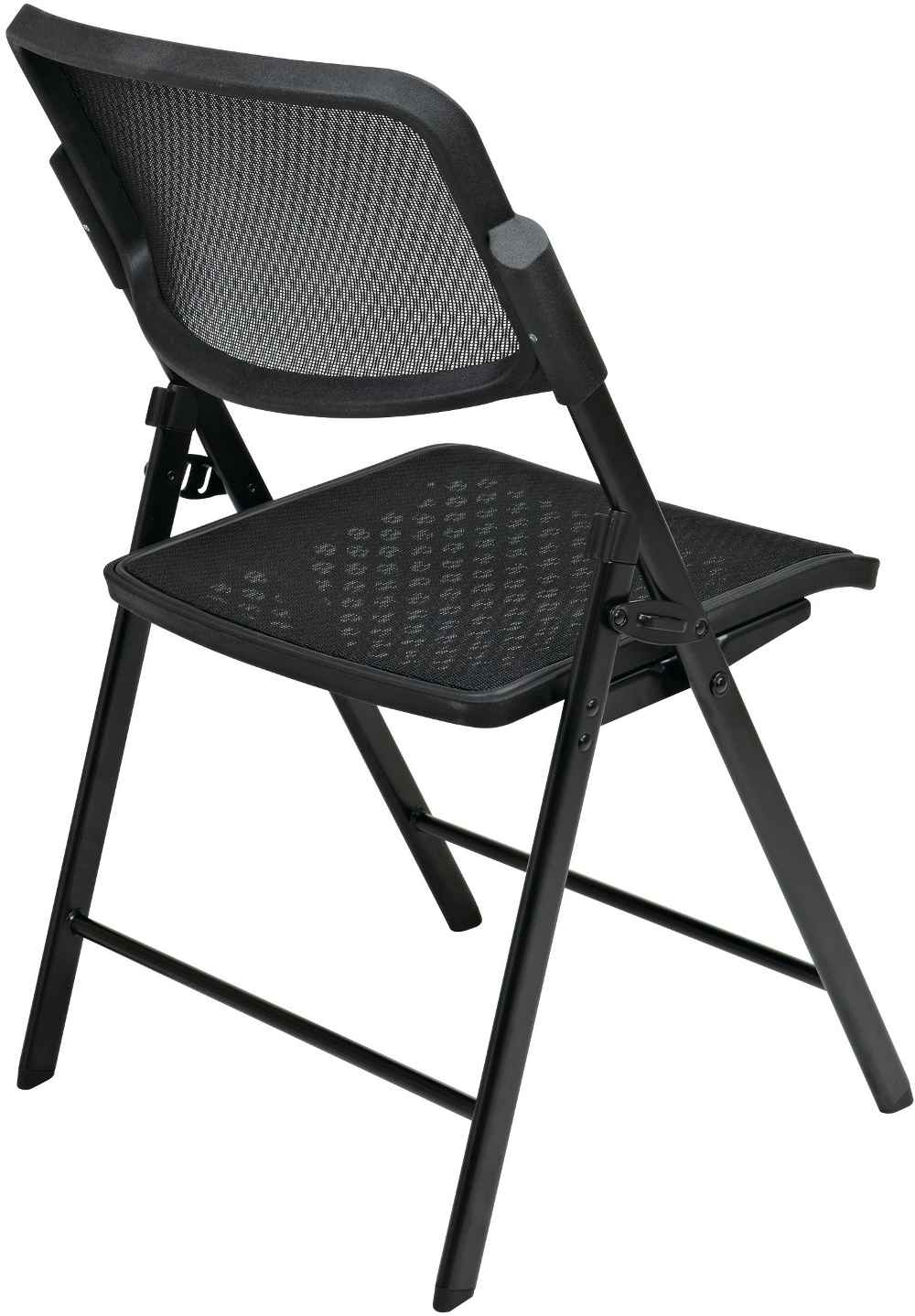 Office Star Matrix Black Folding Office Chair