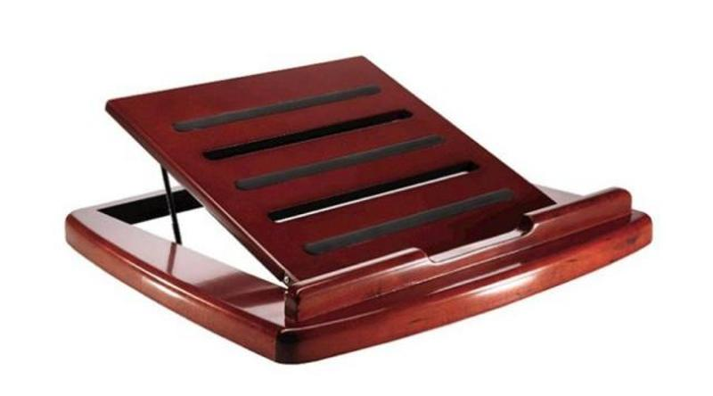 Rolodex Red Mahogany Portable Laptop Desk