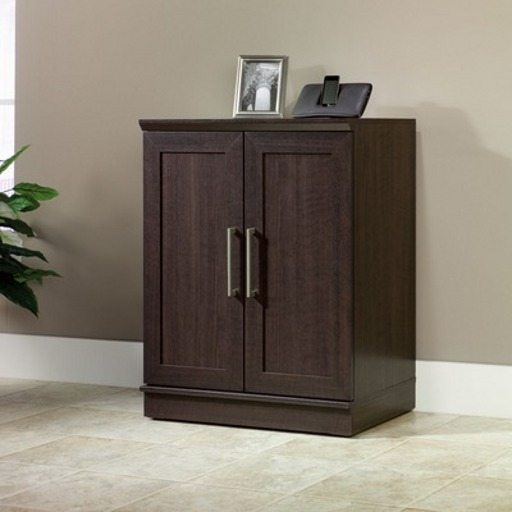 Sauder Home Plus Chocolate Base Cabinet