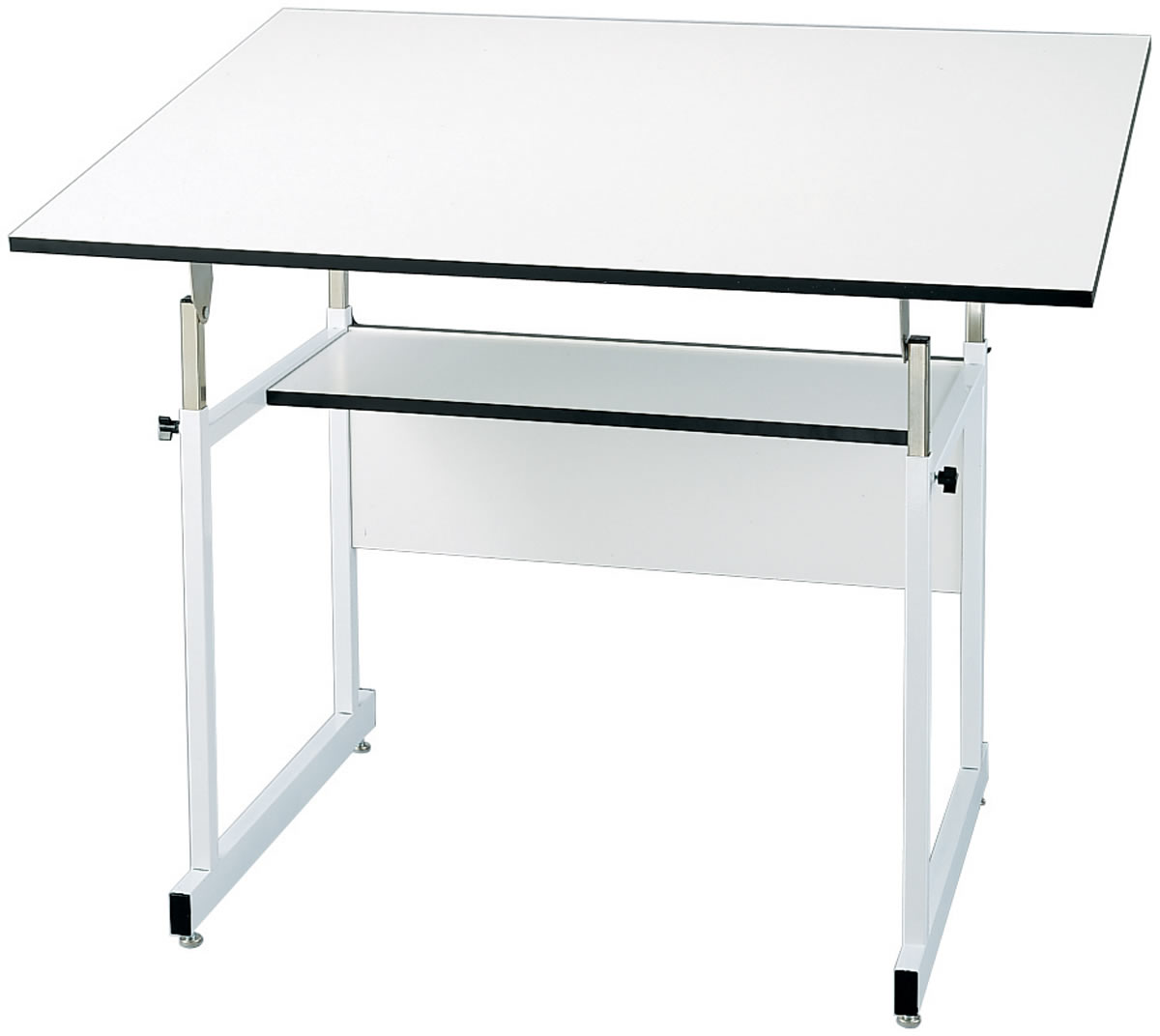 Workmaster Jr Drafting Table in White Base