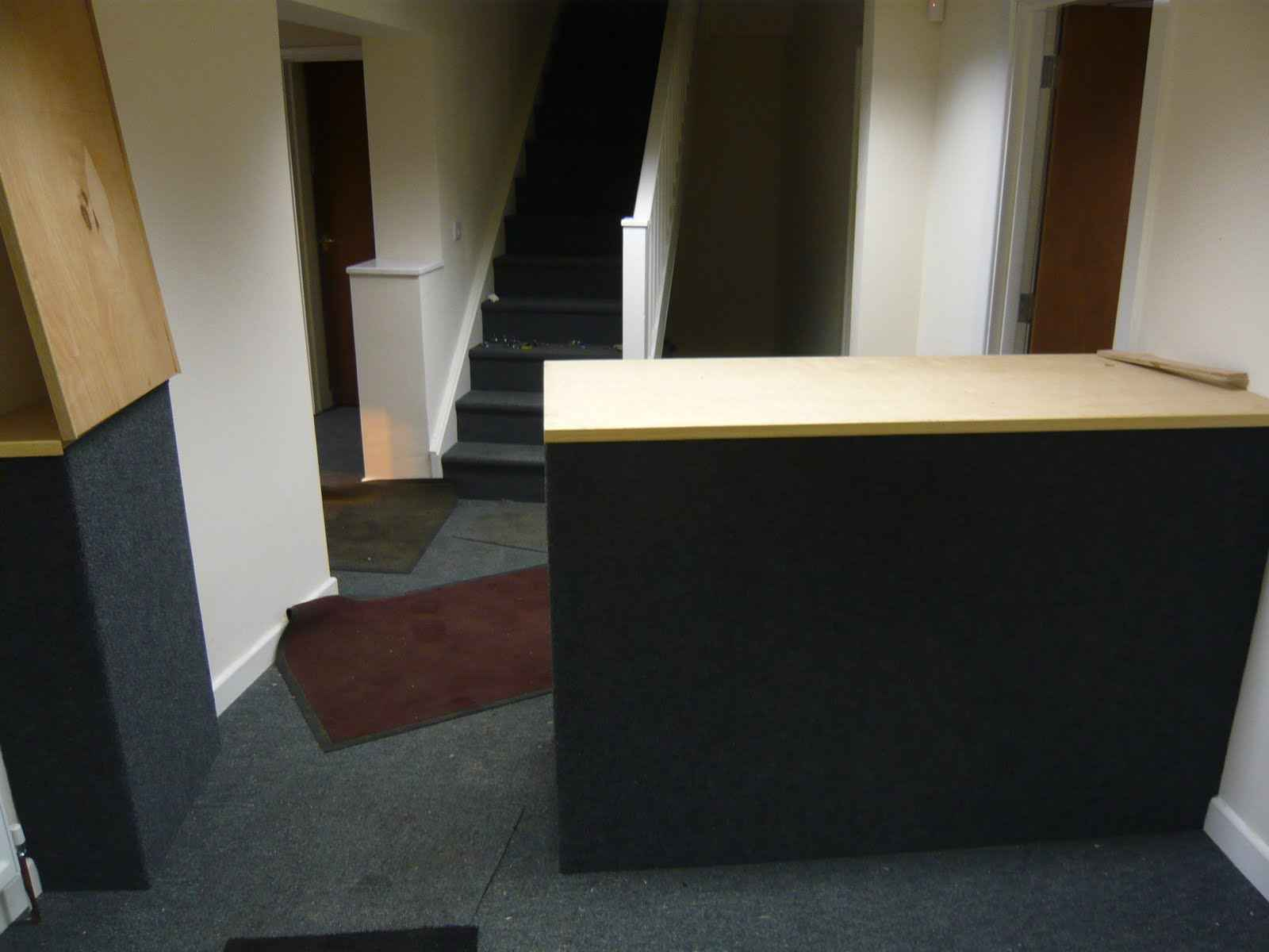 Cheap IKEA Reception Desk for Home Office